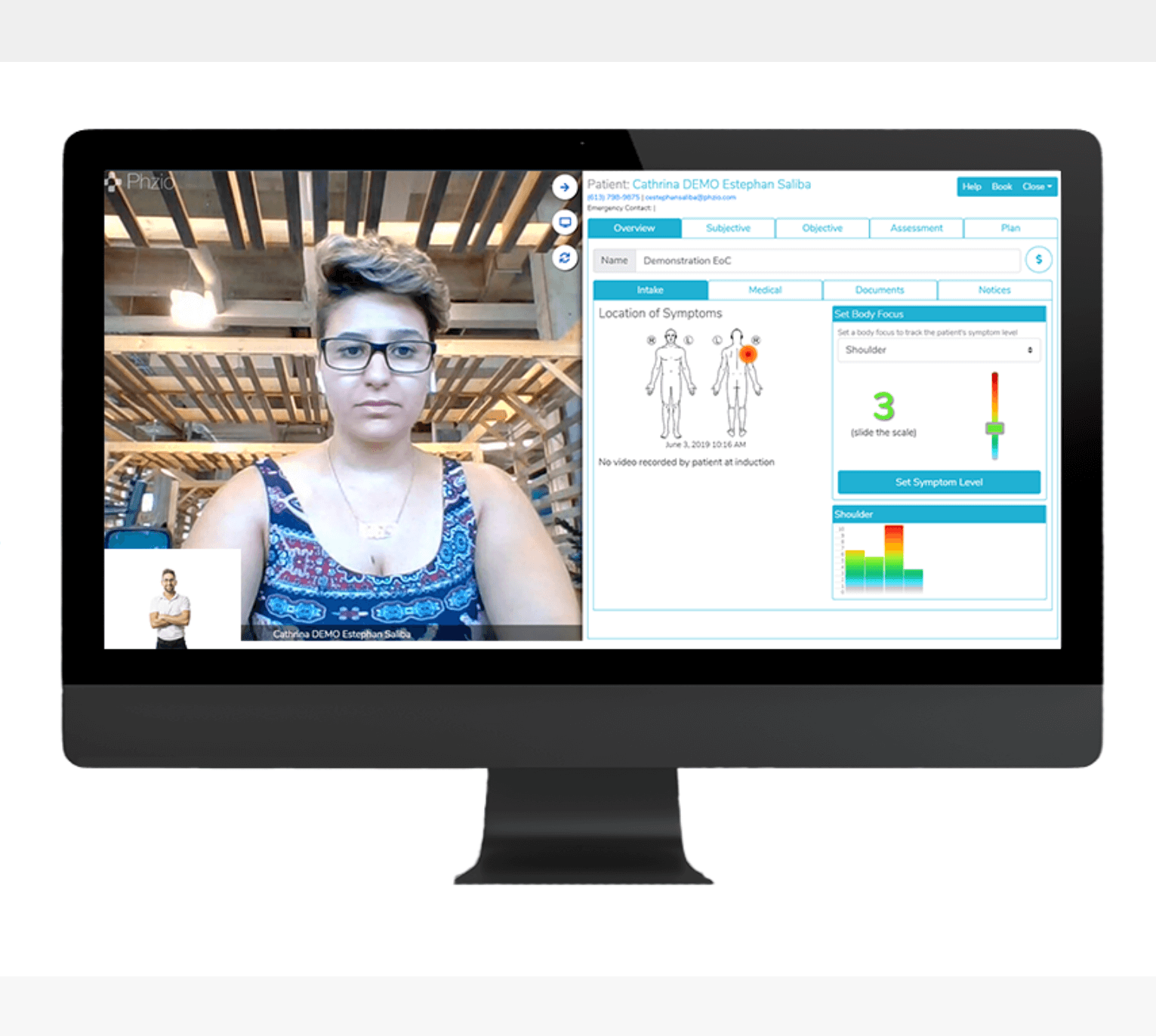 Pain Measurements phzio Physical Therapy Telehealth